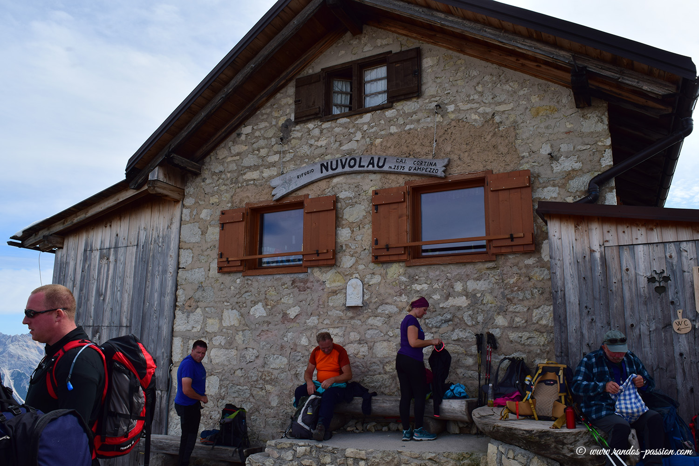 Le refuge Nuvolau - Dolomites