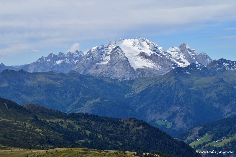 La Marmolada, le point culminant des Dolomites