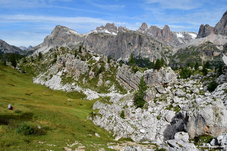 Randonnée aux Cinque Torri - Dolomites
