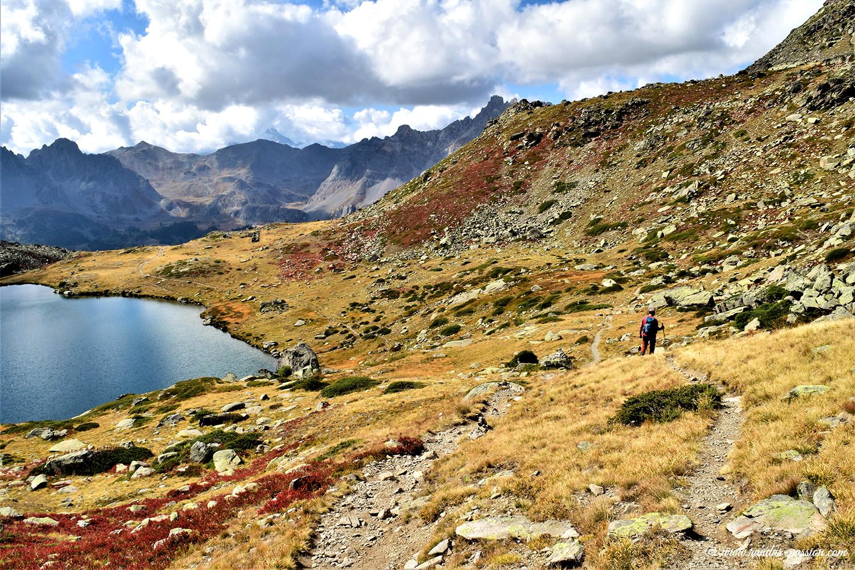 Randonnée au lacs Laramon et du Serpent - Vallée de la Clarée