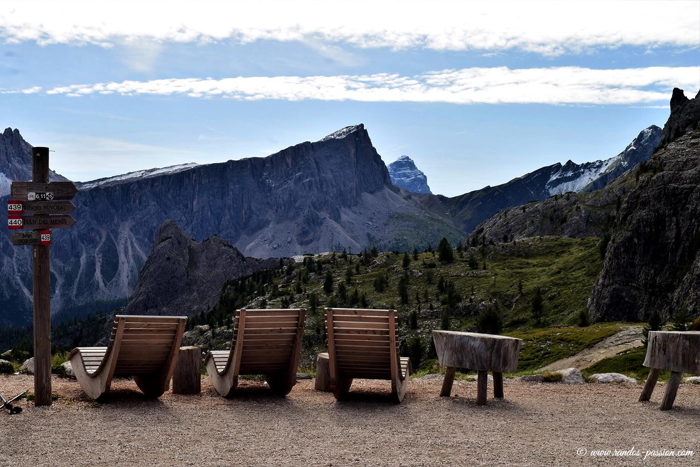 Le refuge Scoiattoli - Dolomites