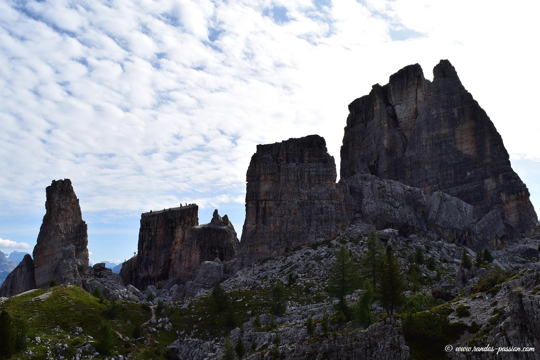 Les Cinque Torri - Dolomites