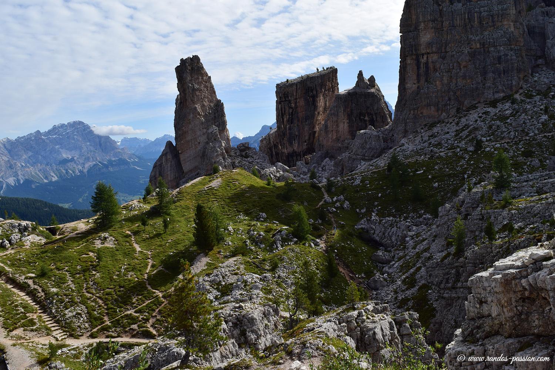 Sentiero delle trincee - Cinque Torri - Dolomites