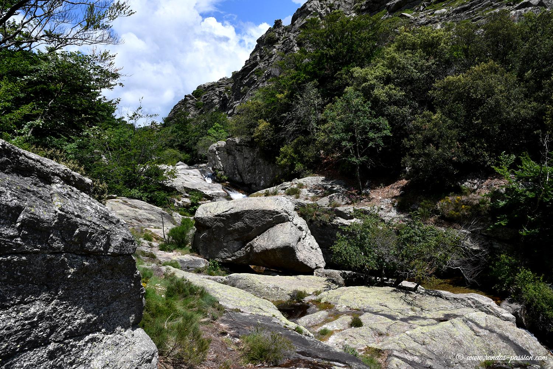 Le ruisseau d'Arles - Gorges de la Colombières