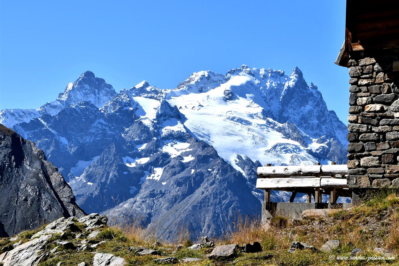 Le refuge du Goléon et la Meije - Hautes-Alpes