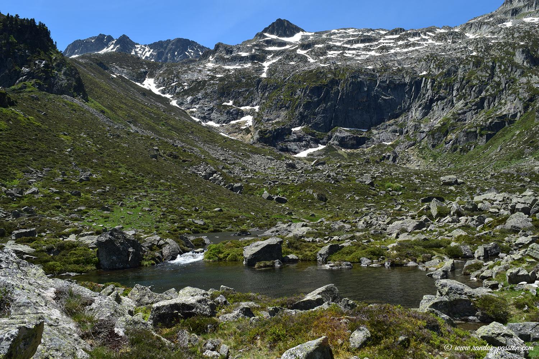 Lac de Liantran - Val d'Azun -Hautes-Pyrénées