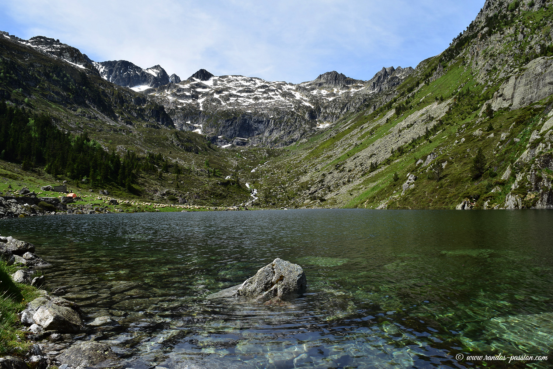 Lac de Plaa de Prat- Val d'Azun -Hautes-Pyrénées