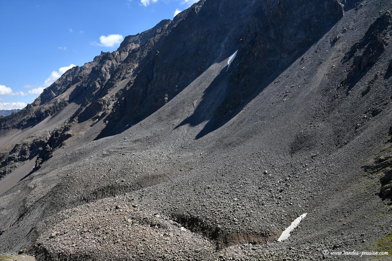 Le glacier rocheux de Laurichard - Hautes-Alpes- Massif des Ecrins