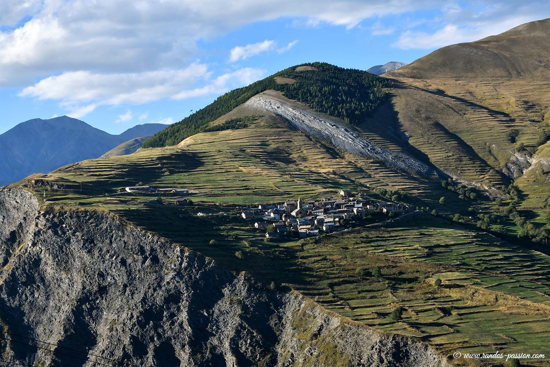 Le hameau des terrasses - Hautes-Alpes