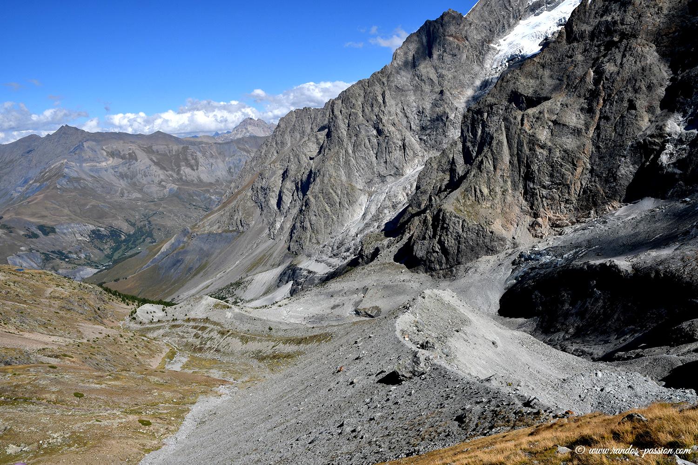 La moraine du Clos des Sables - Hautes-Alpes