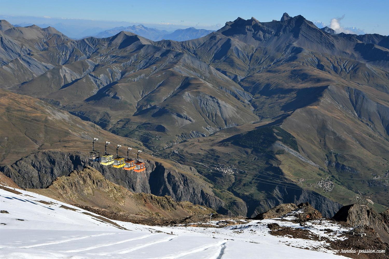 Panorama depuis le col des Ruillans - Hautes-Alpes