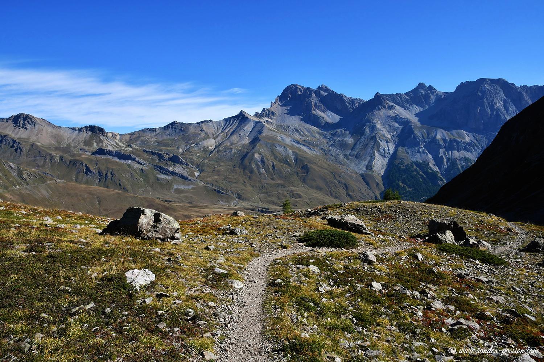 Randonnée au col de Laurichard - Massif des Ecrins