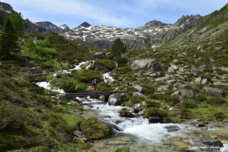 Randonnée aux ruines et au lac de Liantran - Val d'Azun