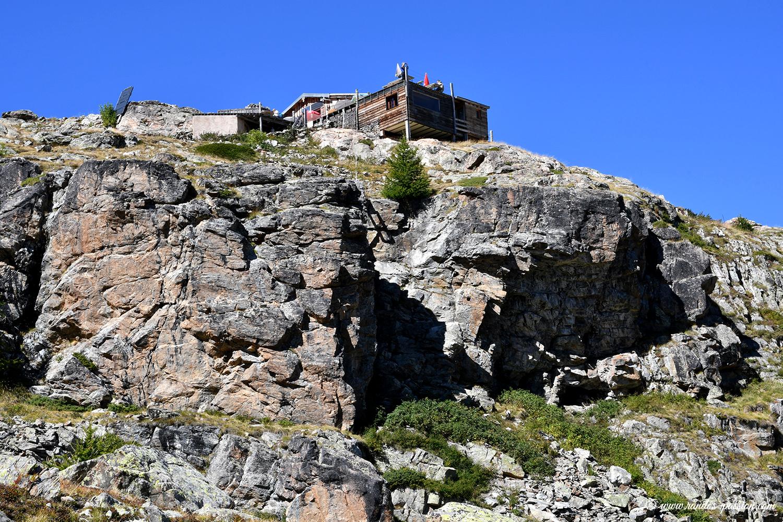 Le refuge Evariste Chancel - Hautes-Alpe