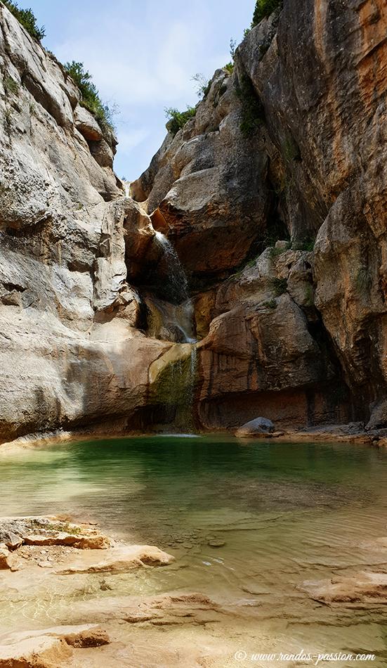 Saltador de las Lañas - Canyon du Mascún