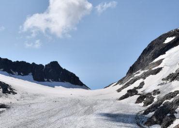 Le Lac Bramant, le Lac Blanc et le pied du glacier de l'Étendard – Savoie