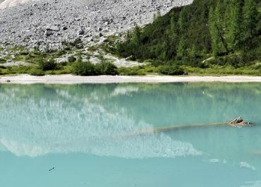 Le lac de Sorapis – Dolomites