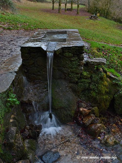 La fontaine de Crastes
