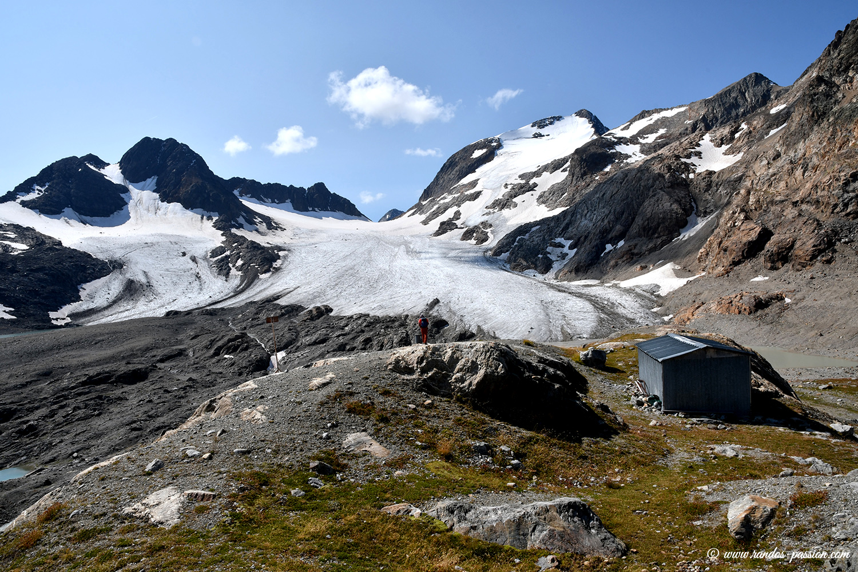 Le Glacier de Saint-Sorlin - Massif de l'Etendard - Savoie