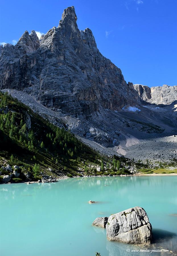 Le lac de Sorapis - Dolomites