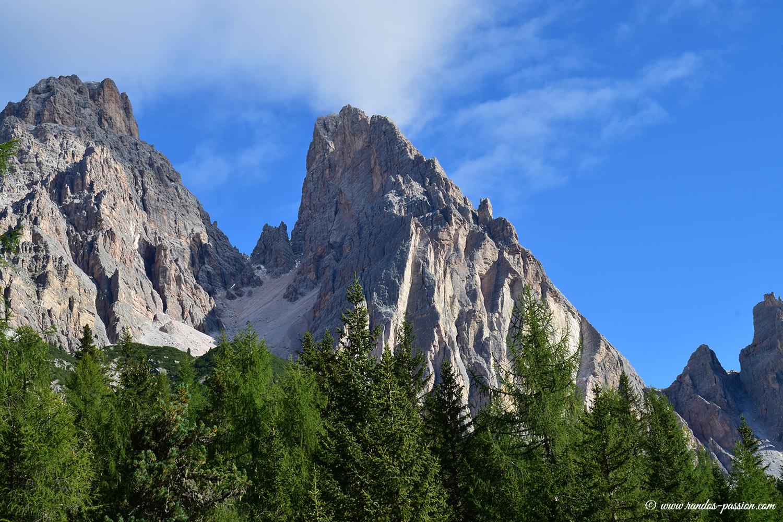 Le Monte Cristallo - Dolomites