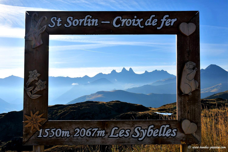 Panorama du col de la Croix de Fer - Savoie