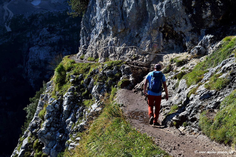 Randonnée lac de Sorapis - Dolomites
