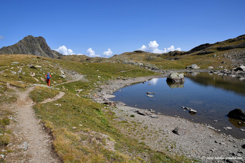 Le lac Blanc - Savoie
