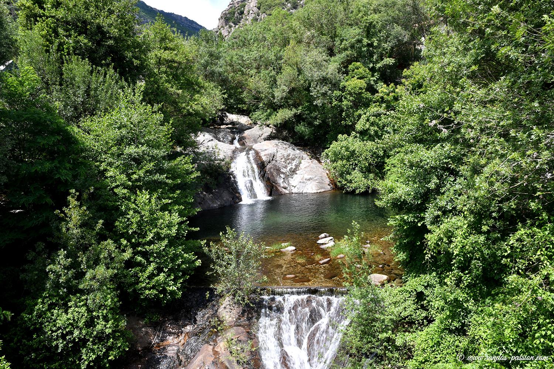 Le ruisseau d'Arles à Colombières sur Orb
