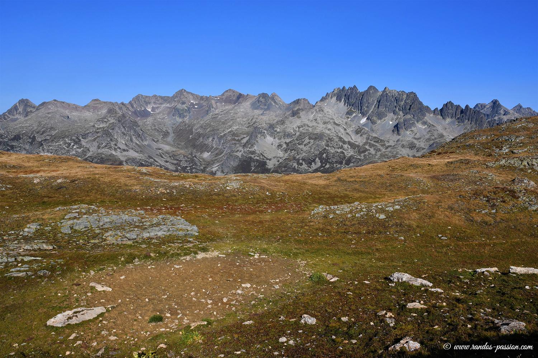 Vue du col des Tufs - Savoie
