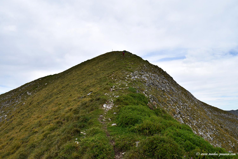 La crête Sud du Mont Ceint - Ariège
