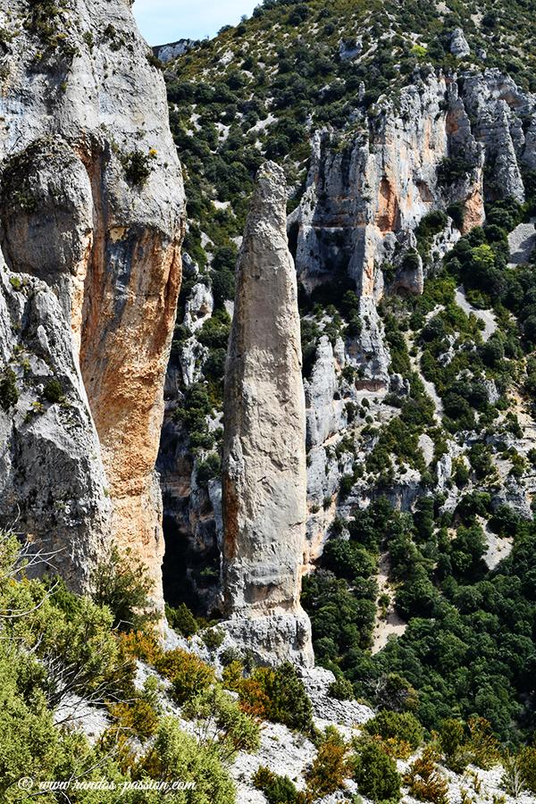 La cuca de Bellosta - Canyon du Mascún