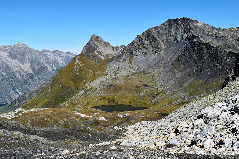 Vue de la Fenêtre de Ferret - Val d'Aoste