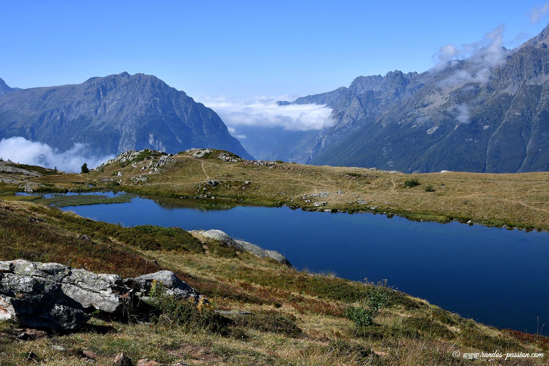 Le lac Carrelet à l'Alpe d'Huez