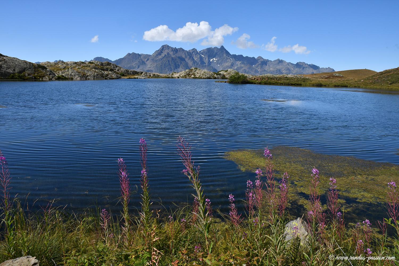Le lac Rond à l'Alpe d'Huez