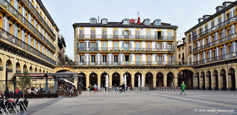 Place de la Constitution à San Sebastian