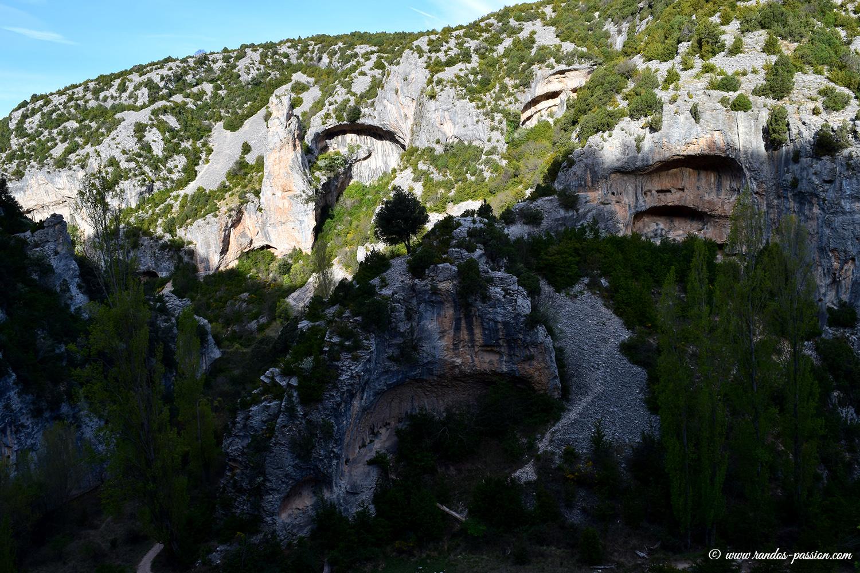 Randonnée Rodellar - Otín - Sierra de guara