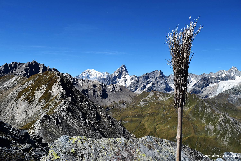 Au sommet de Tête de Fenêtre - Val d'Aoste
