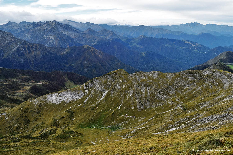 Vue du Mont Ceint - Ariège