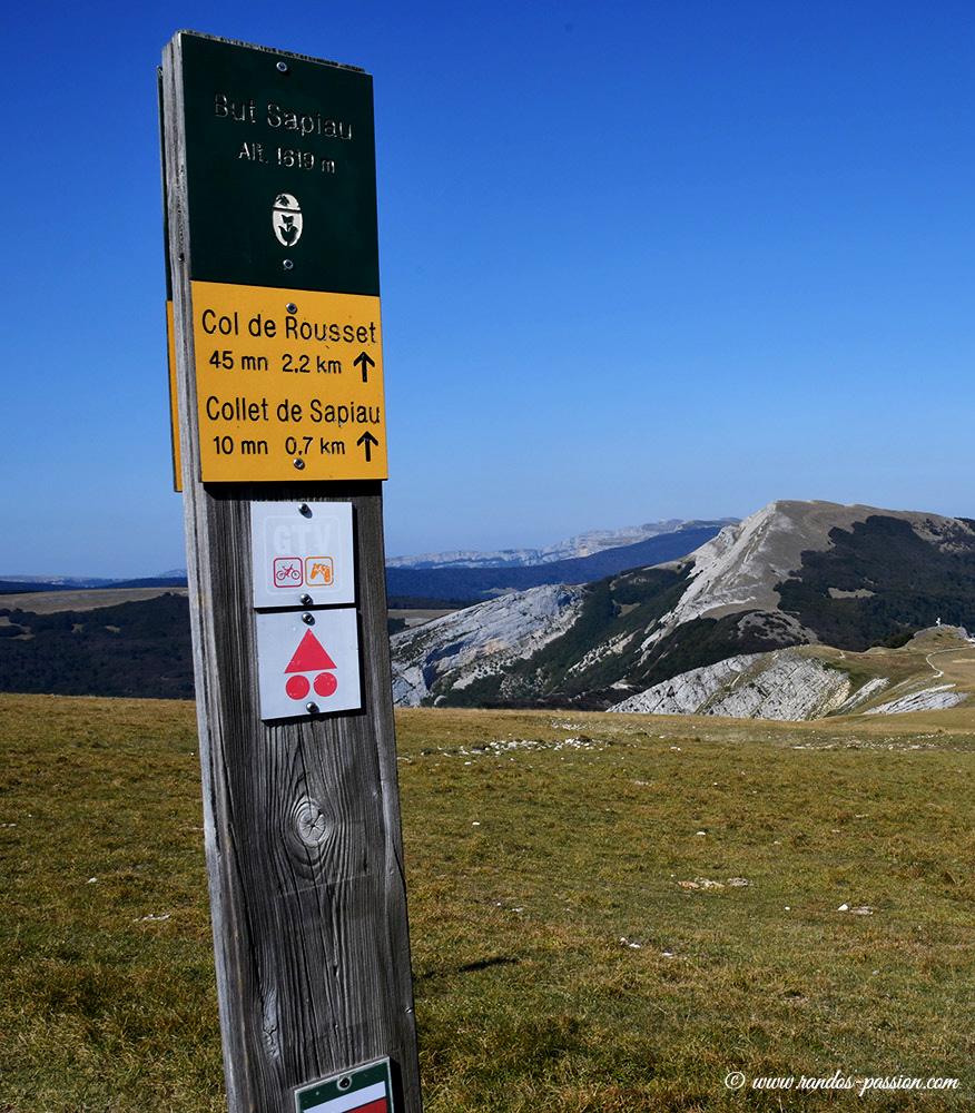 Au sommet du But Sapiau -Vercors