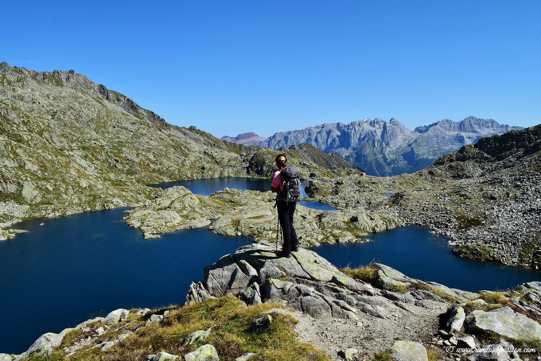 Le lac Gelato et le lac Serodoli - Dolomiti de Brenta