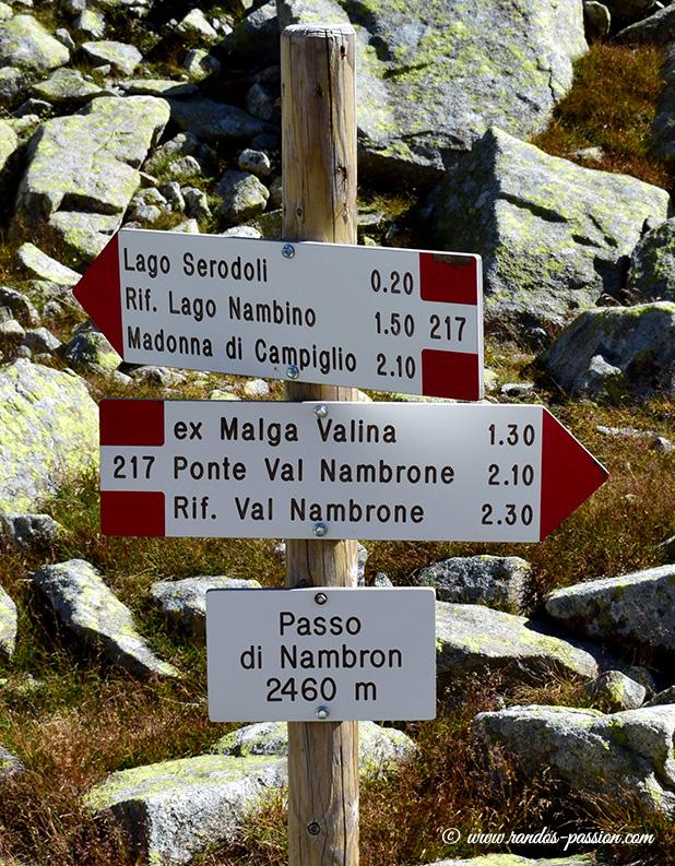 Passo di Nambrone - Dolomites de Brenta