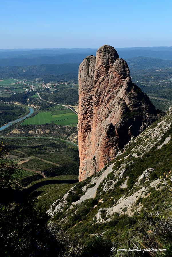 Randonnée en boucle autour des Mallos de Riglos - Aragon