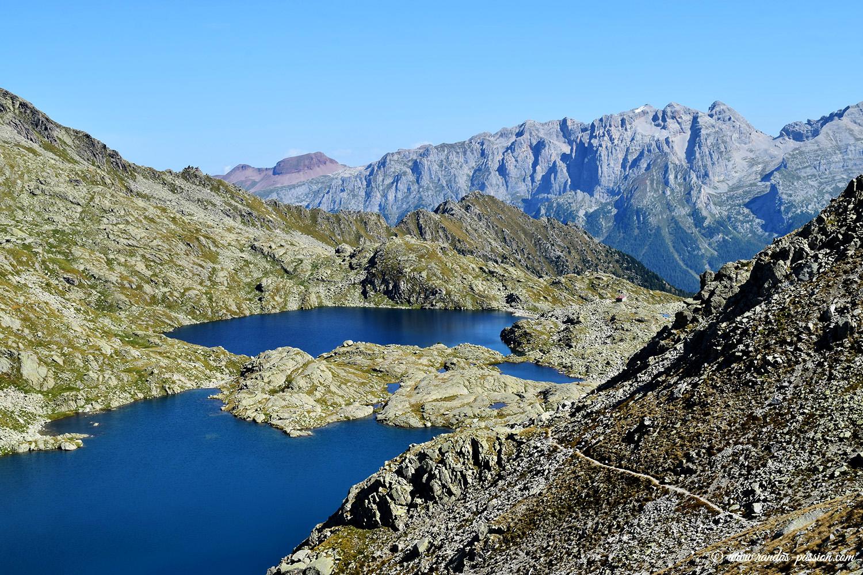 Vue du Passo di Nambron - Dolomiti di Brenta