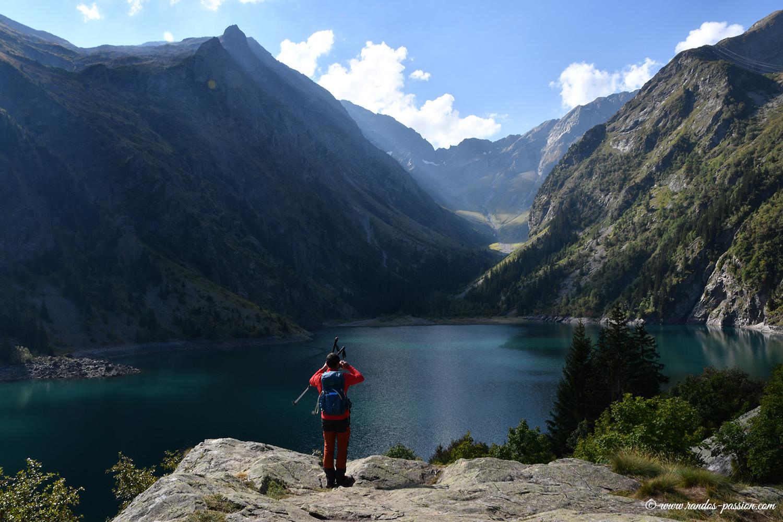 Lac du Lauvitel - Massif des Ecrins