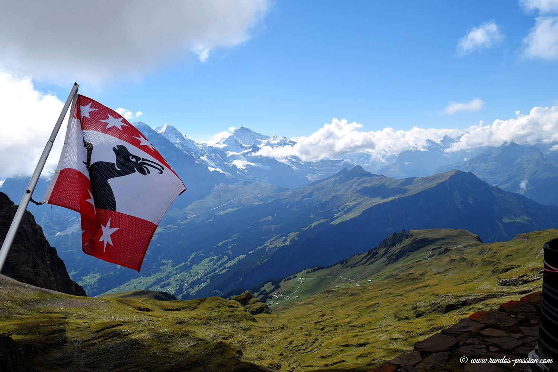 Au sommet du Faulhorn - Grindelwald