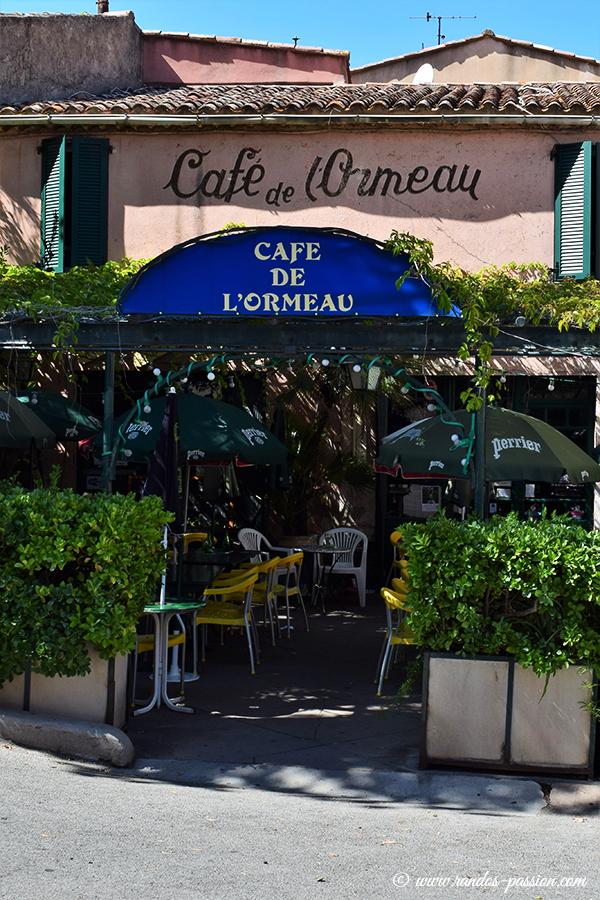 Café de l'Ormeau à Ramatuelle