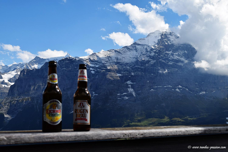 L'Eiger vue depuis Bussalp