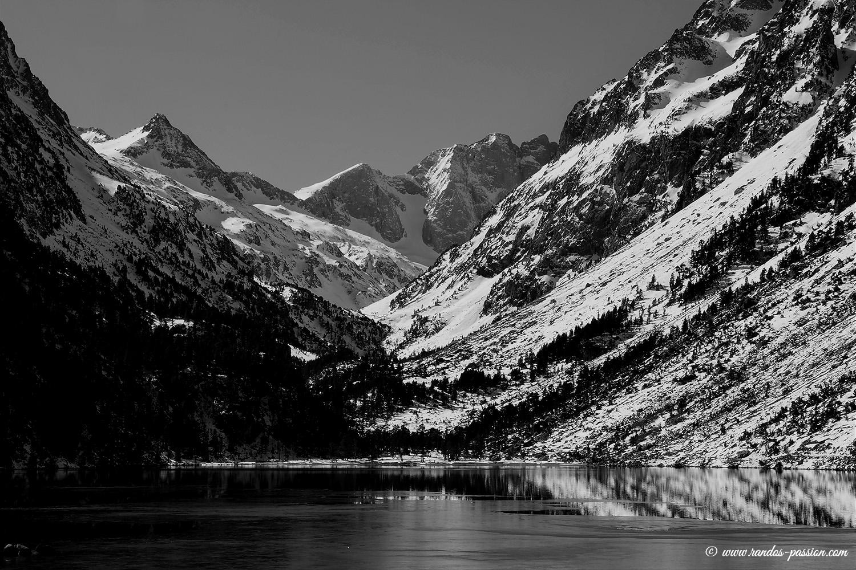 Le lac de Gaube - Hautes-Pyrénées