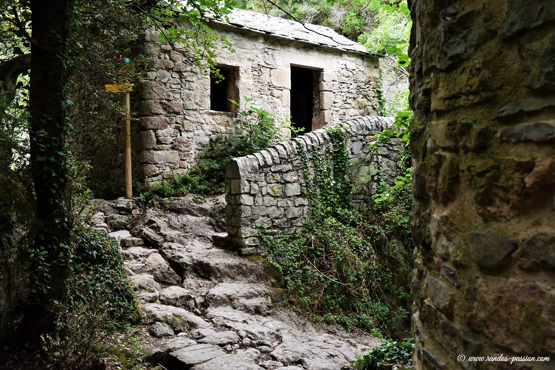 Les moulins de la Foux - Résurgence de la Vis